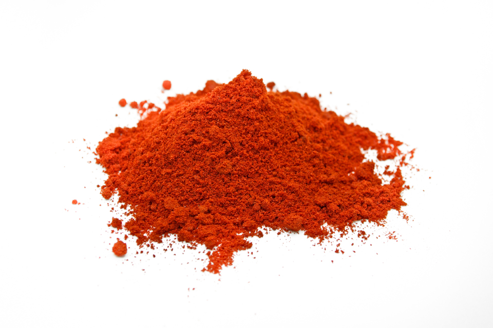Red pepper, ground