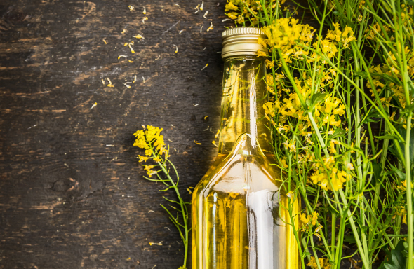 Rapeseed  oil, cold pressed
