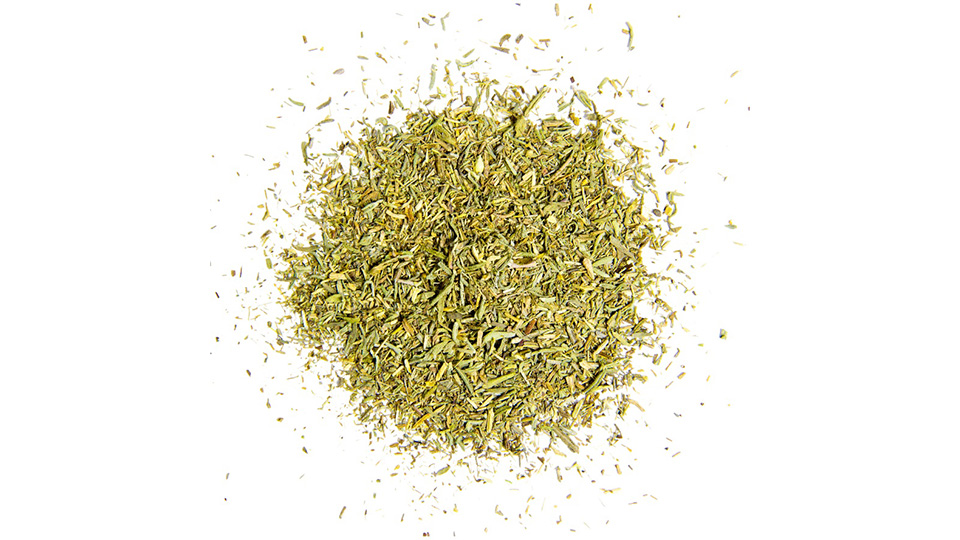 Thyme, rubbed